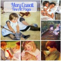 Mary Cassatt Fine Art Pages