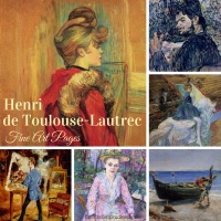 Henri de Toulouse-Lautrec Fine Art Pages