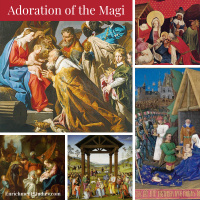 Adoration of the Magi Fine Art Pages