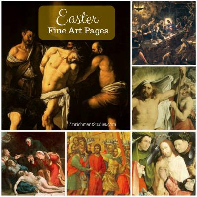 Easter Season Fine Art Pages