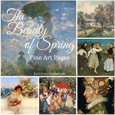 The Beauty of Spring Fine Art Pages
