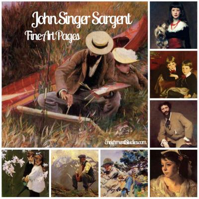 John Singer Sargent Fine Art Pages
