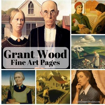 Grant Wood Fine Art Pages
