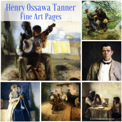 Henry Ossawa Tanner Fine Art Pages