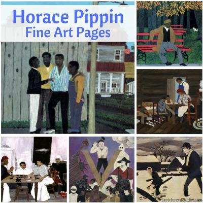 Horace Pippin Fine Art Pages