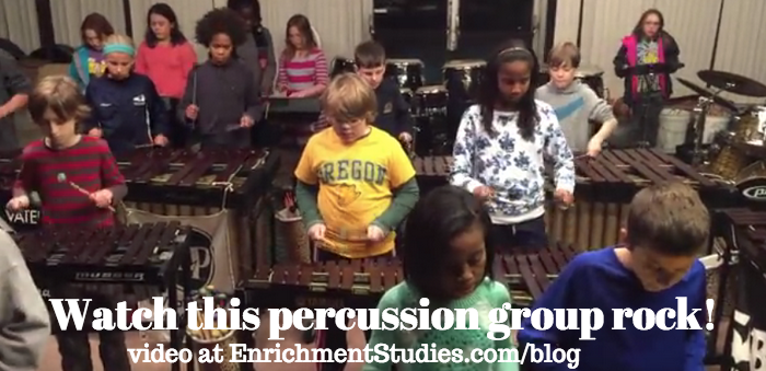 Watch this kids' percussion group rock!