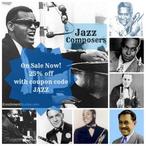 Jazz Composers on Sale 25% off