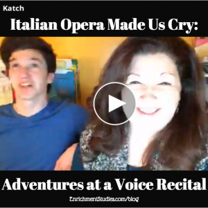Italian Opera Made Us Cry: Adventures at a Voice Recital