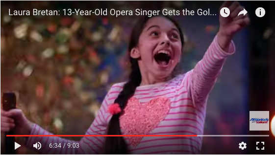 13 year old opera singer