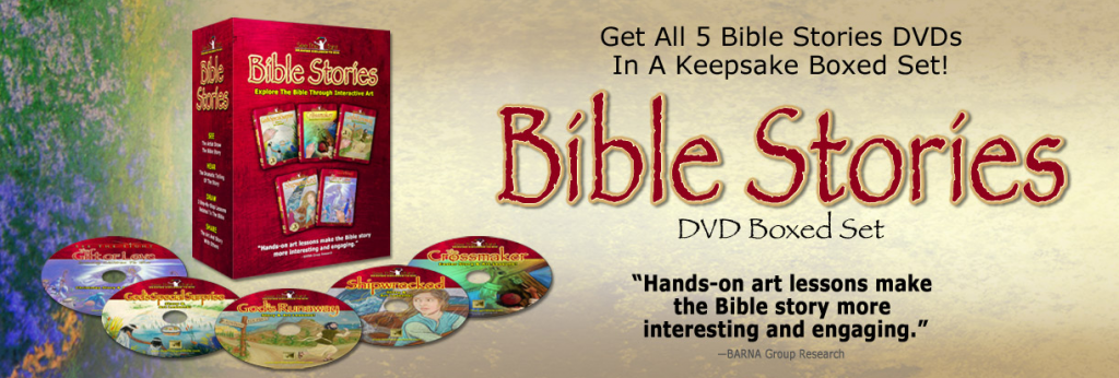 Bible Stories Art Lessons Giveaway