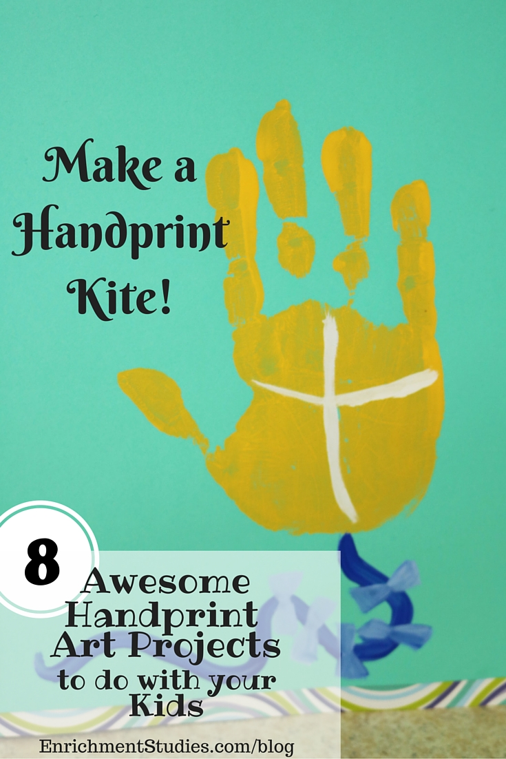 Make a Handprint Kite Painting