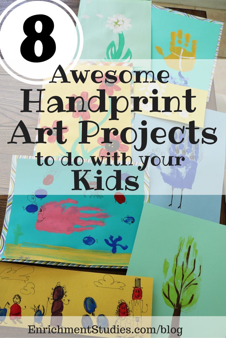 8 Awesome Handprint Art Projects to do with your Kids