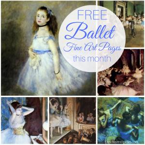 Free Ballet Fine Art Pages
