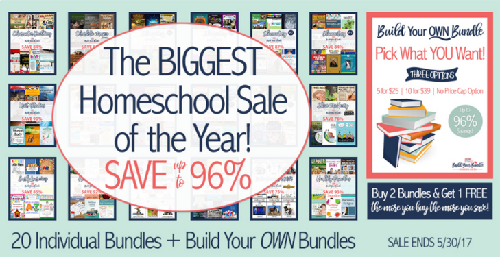 The BIGGEST Homeschool Sale of the Year!