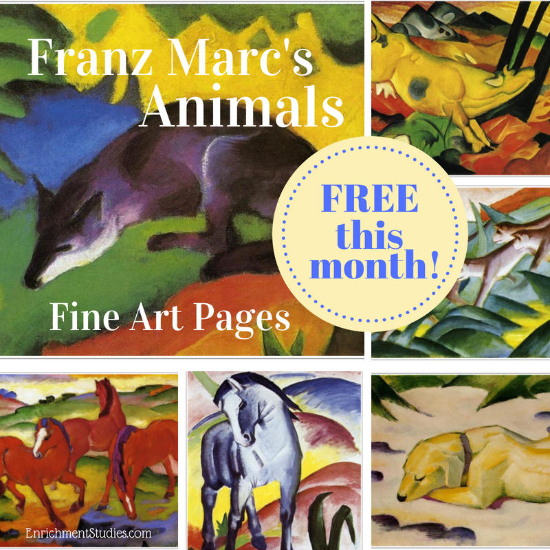 Franz Marc free graphic
