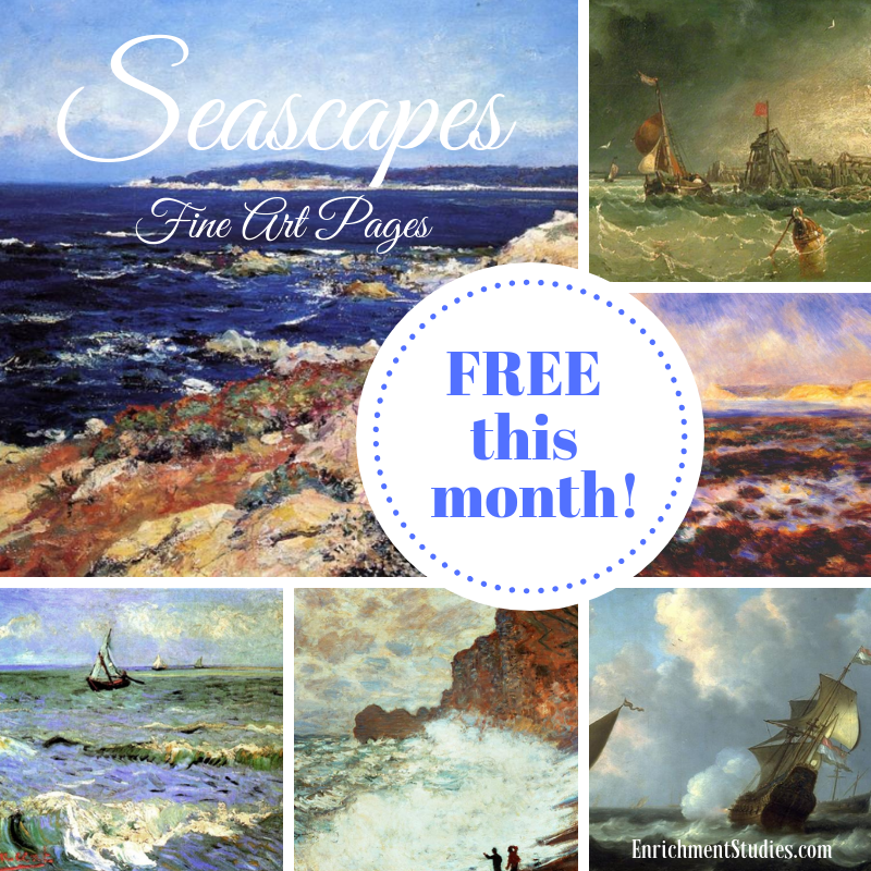 Seascapes free square