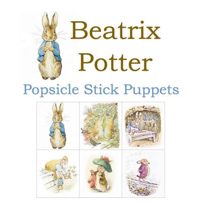Beatrix Potter Popsicle Stick Puppets