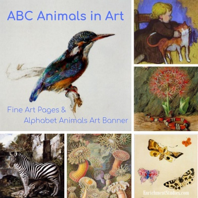 ABC Animals in Art