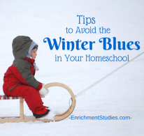 Tips to Avoid the Winter Blues in Your Homeschool