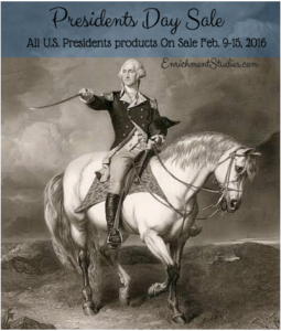 Presidents Resources on Sale Now!
