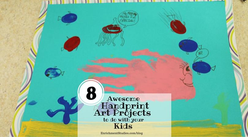 Fish Handprint Art Project