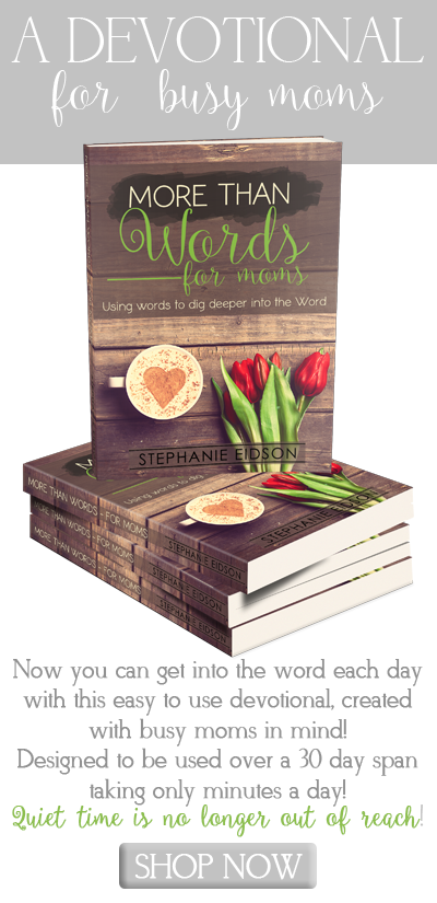 More than Words devotional tool for moms