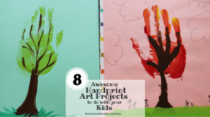 Tree art: 8 Awesome Handprint Art Projects to do with your Kids