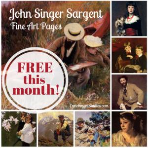 John Singer Sargent Fine Art Pages