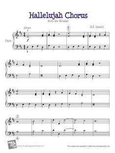 Hallalujah chorus