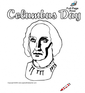 columbus coloring pages