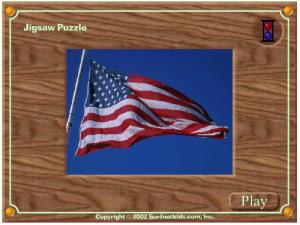flag puzzle