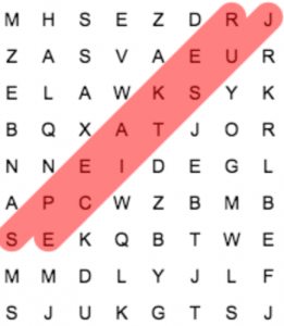 WORD SEARCH MLK