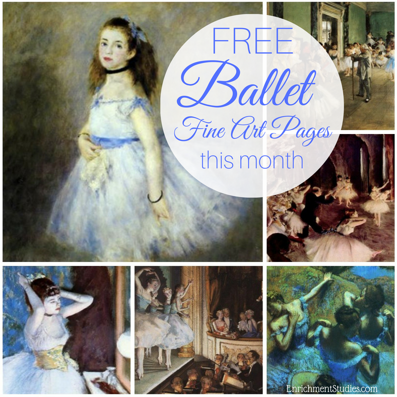free-ballet-fine-art-pages