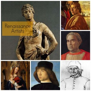 Renaissance Artists graphic
