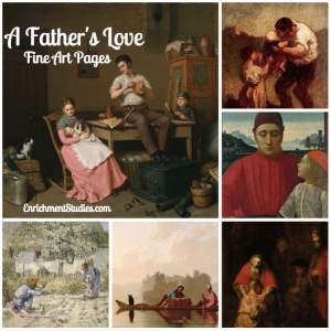 A Father's Love Fine Art Pages