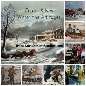Currier and Ives Fine Art Home Study