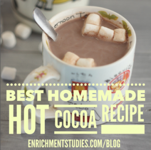 Hot cocoa recipe