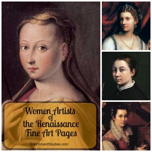 Women Artists of the Renaissance graphic