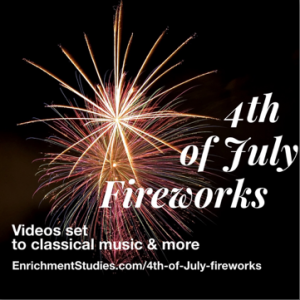 4th of July Fireworks freebie