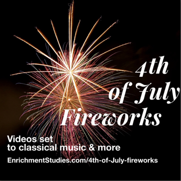 4th of July Fireworks freebie