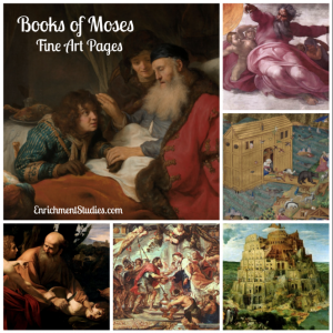 Books of Moses Fine Art Pages
