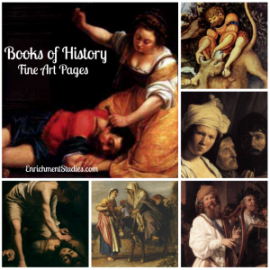 Books of History Fine Art Pages