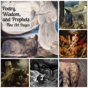 Poetry, Wisdom, and Prophets Fine Art Pages