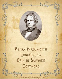Longfellow copywork
