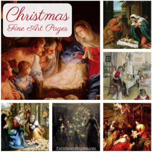 Christmas Fine Art Pages