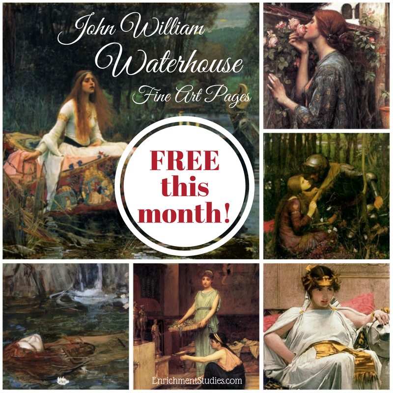 waterhouse free graphic