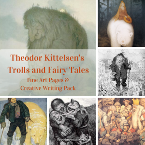 Theodor Kittelsen Trolls and Fairy Tales